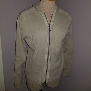 Tommy Hilfiger Hooded Cardigan Size Large